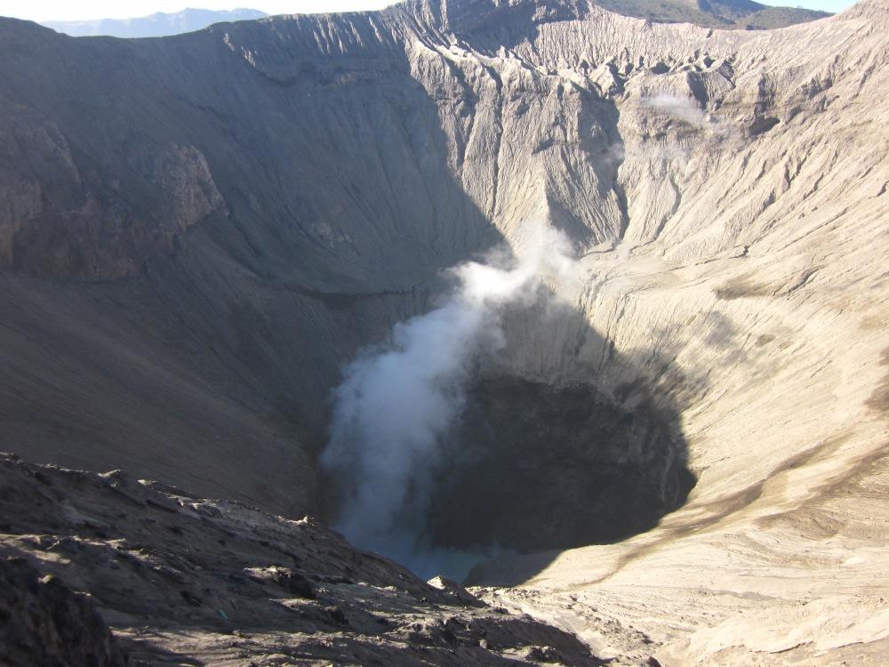 Gaping Bromo Crater
