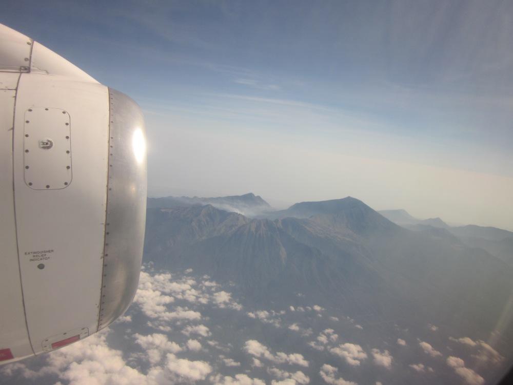 Flight to Labuan Bajo