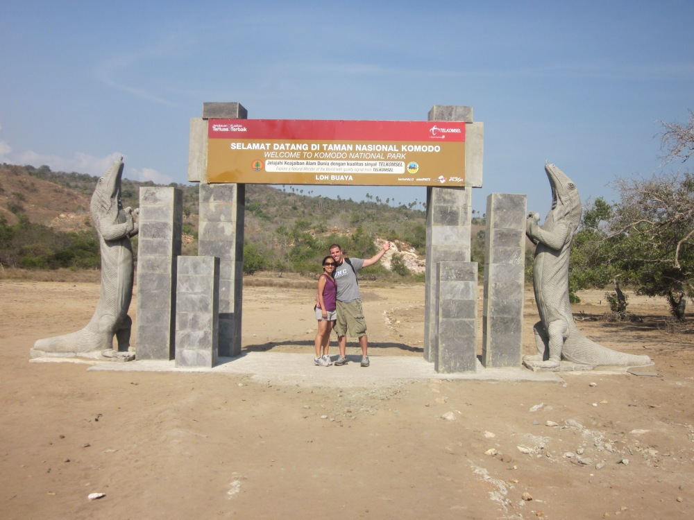 Komodo National Park Entrance