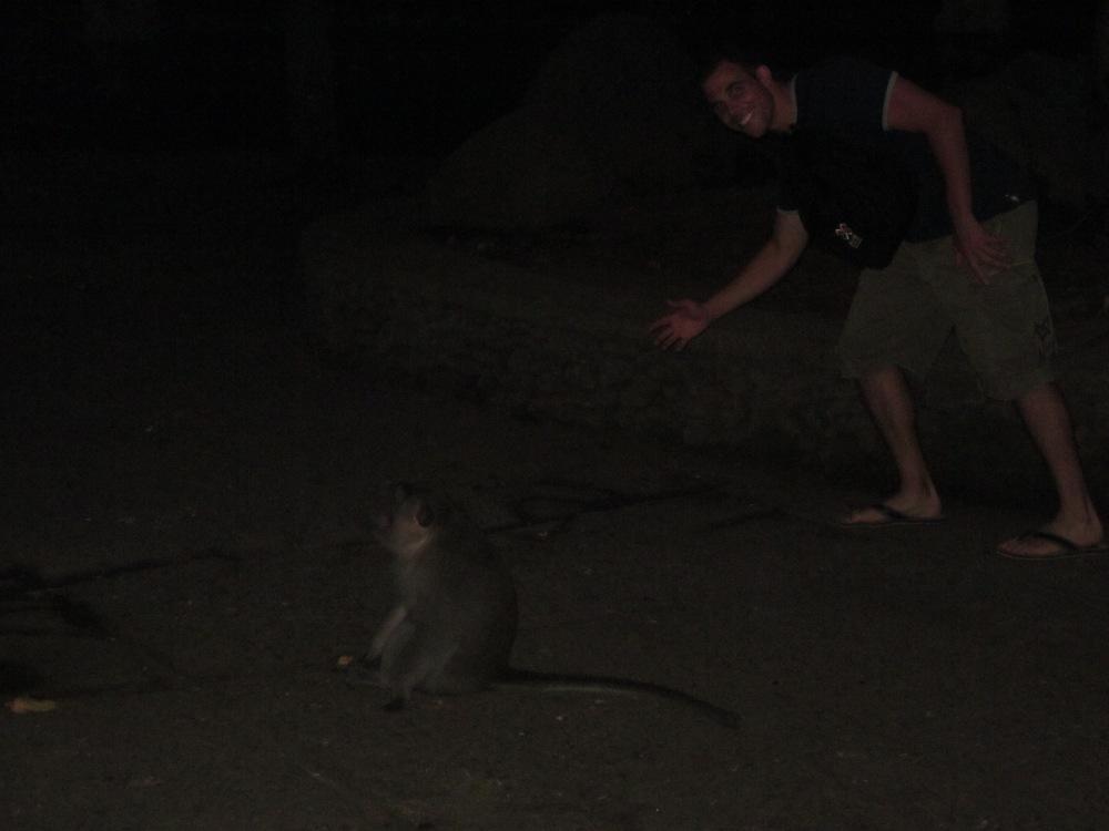 Doug and monkey