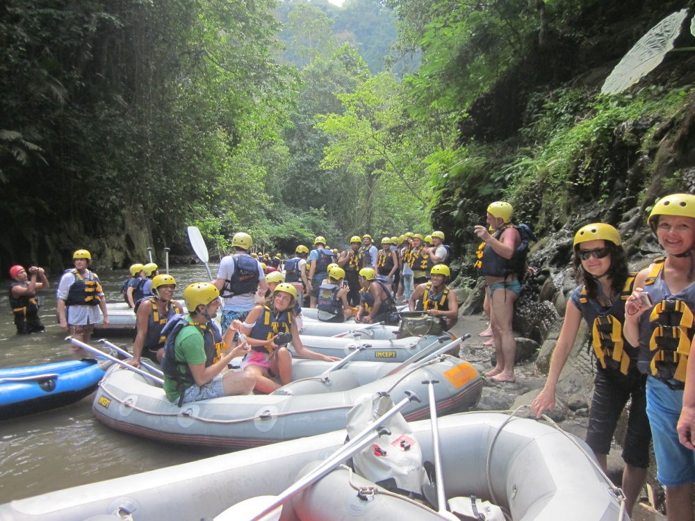 Rafting break
