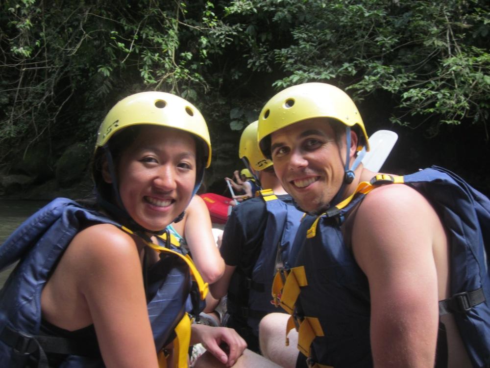 Rafting helmets