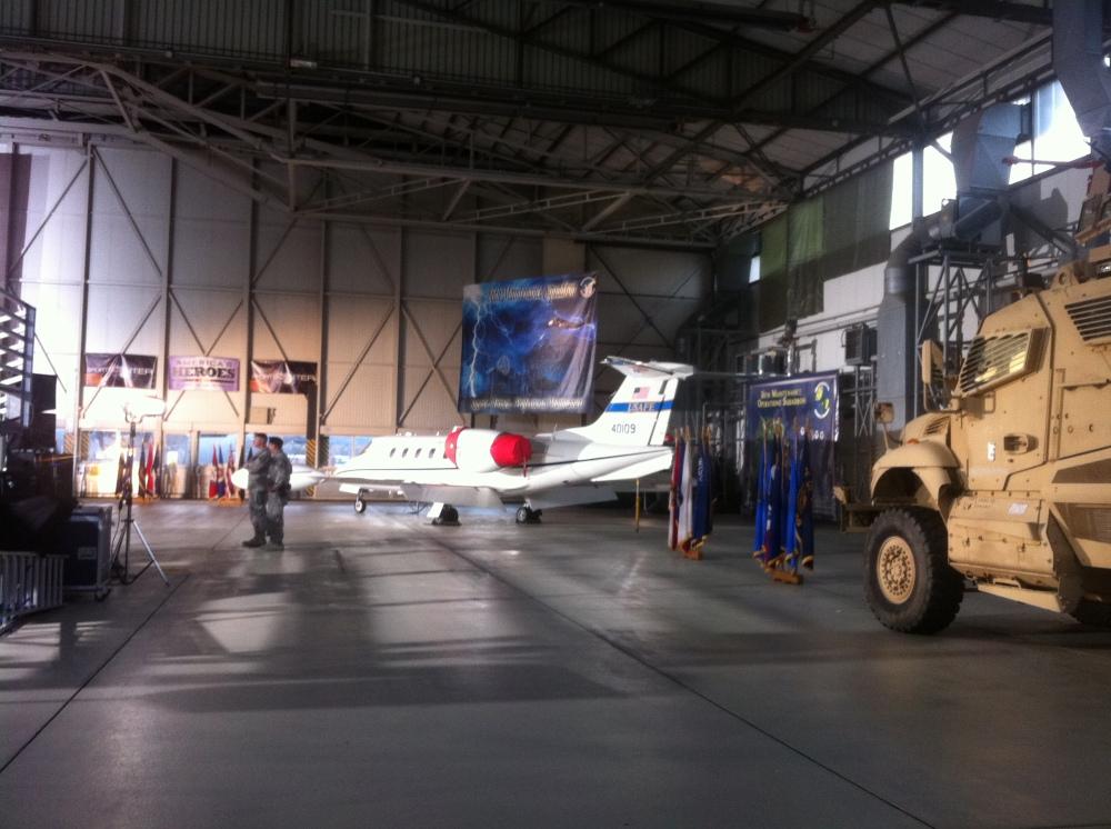 Air fleet and tanks