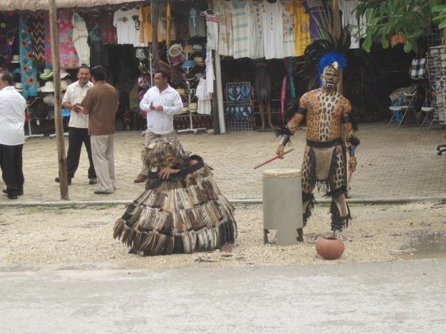 Warriors in costume