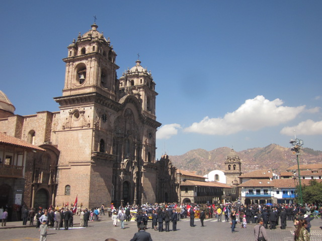 Plaza de Armas, the main square in Cusco