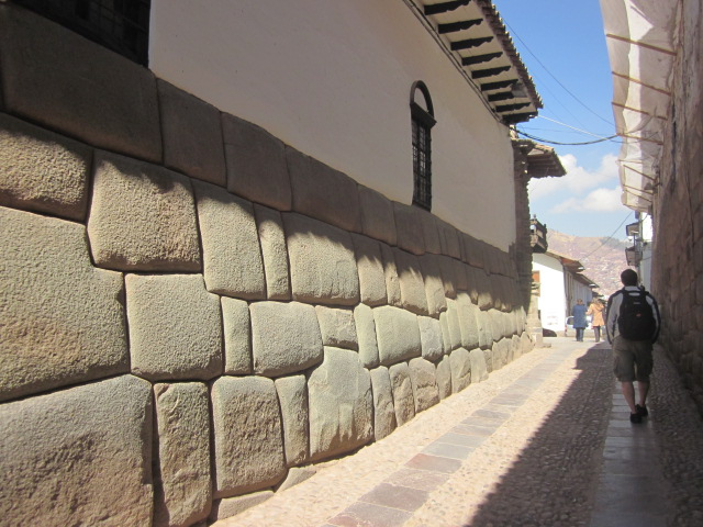 Some of the Inca Walls that remain intact, 600 years later...