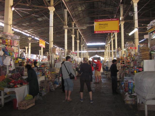 Market madness at San Pedro Market, a locals market