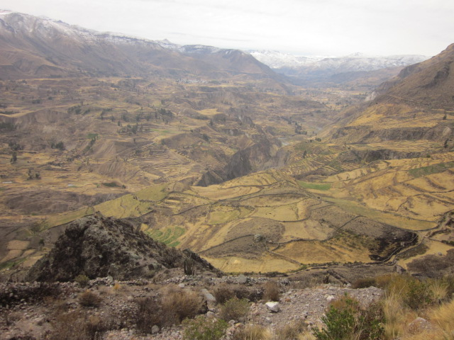 On the back end of the canyon, we then encountered incredible panoramic views of the valley