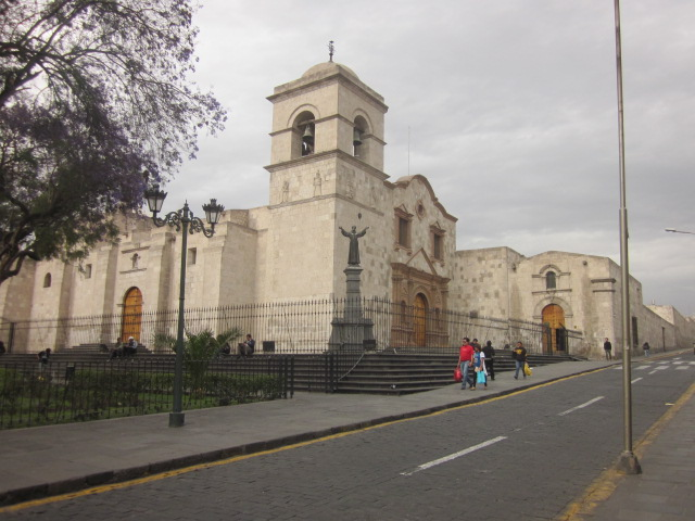 The Church of St Francis of Assisi, one of the many colonial style churches in Arequipa