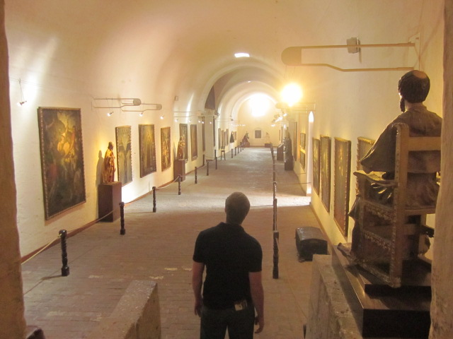 The monastery included a really nice gallery of religious paintings and artifacts