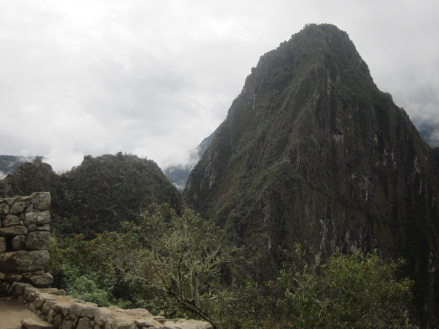 Our nemesis, Huayna Picchu from down at Machu Picchu