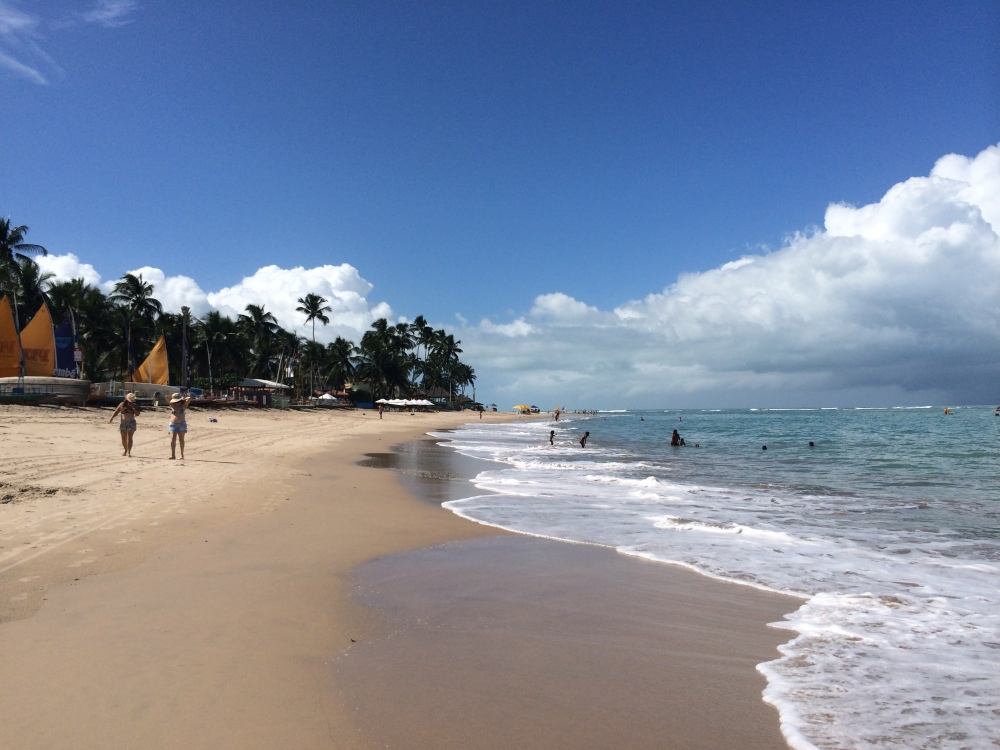 Picture perfect beach at Porto de Galinhas