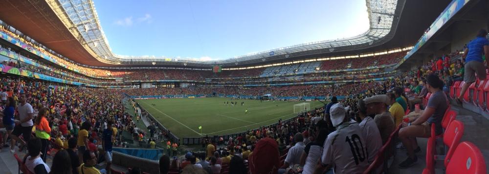 Inside the Arena Pernambuco