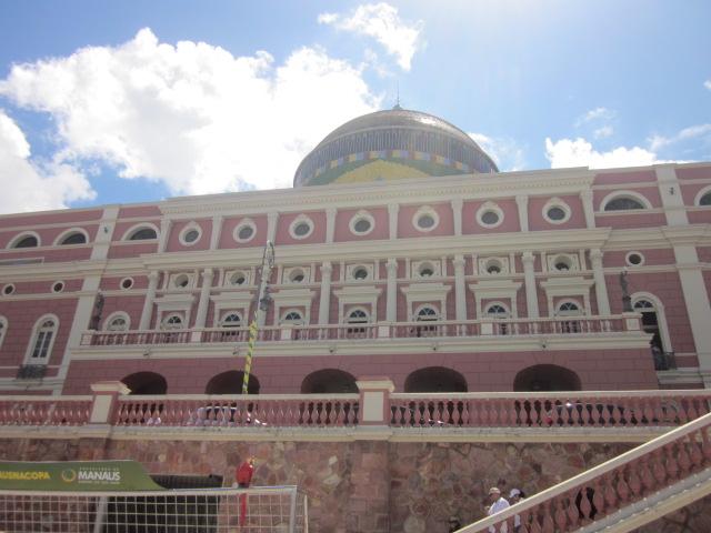 Exterior of Teatro Amazonas