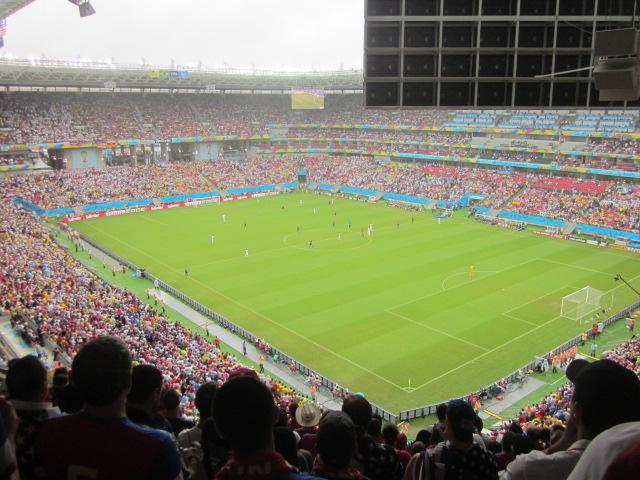Inside Arena Pernambuco