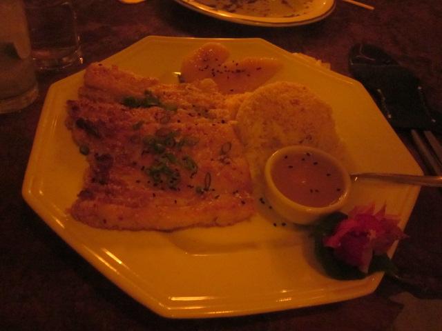 My fish dish