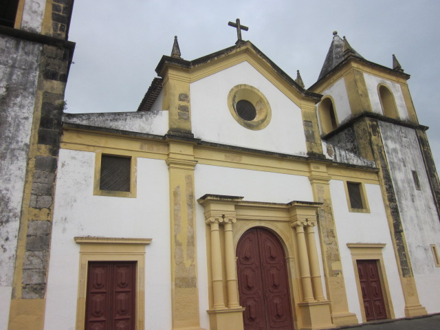 Basilica de Sao Bento, one of the best known churches in Olinda