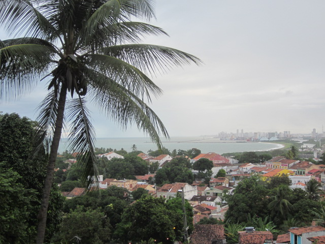 View from atop...Olinda looking upon Recife