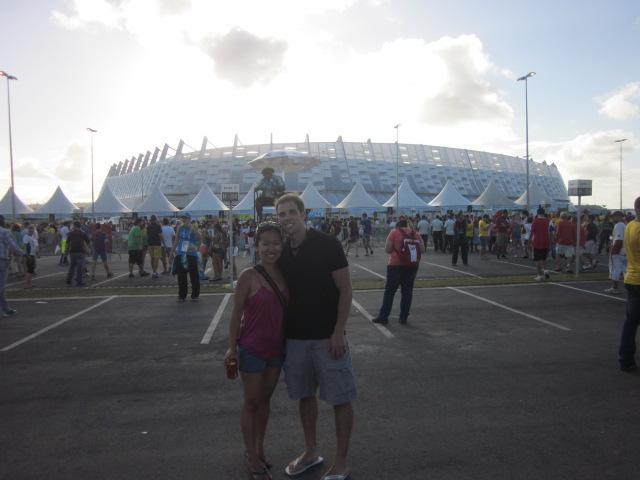 Outside Arena Pernambuco
