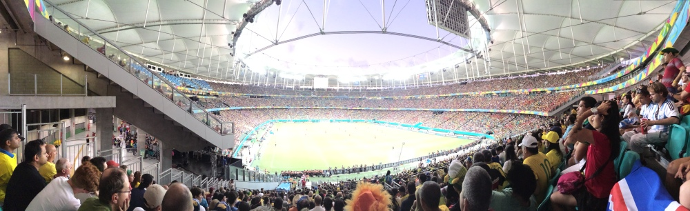 Pano inside the Arena Fonte Nova