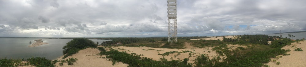 Pano of lighthouse