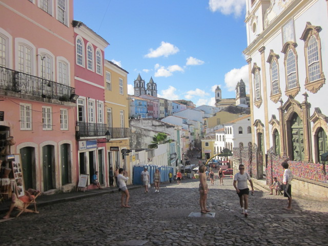 Atop the Largo do Pelourinho, the square that once housed the infamous whipping post for runaway slaves that gave the neighborhood its name