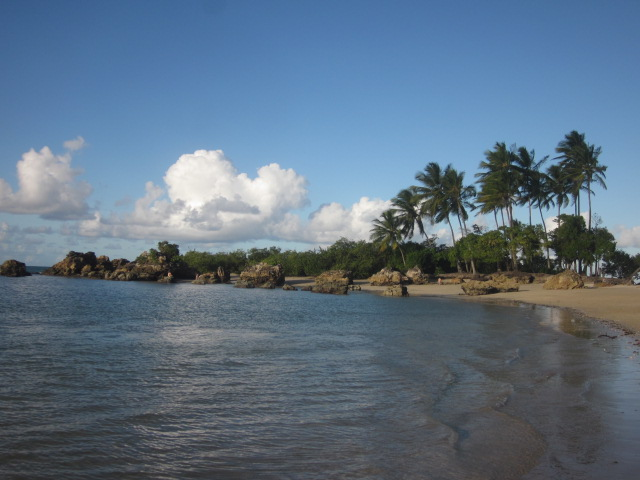 Beach #2, the most popular beach on the island